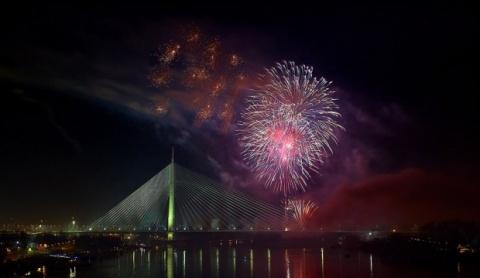 Doček Nove godine na beogradski način