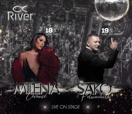 Splav River - Šako i Milena Ćeranić!