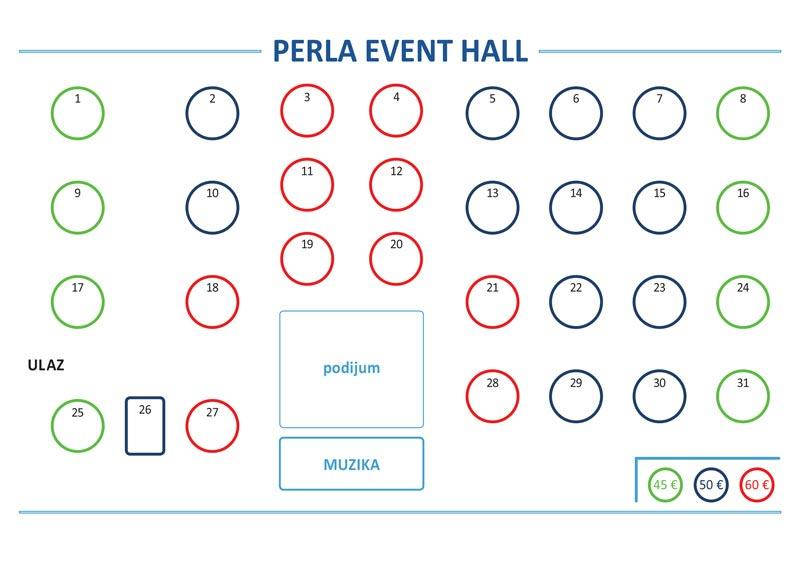 perla event hall mapa sedenja nova godina