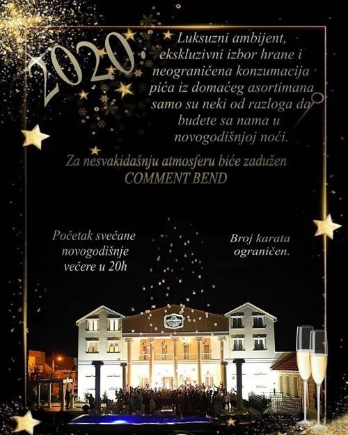 villa palace docek nove godine novi sad
