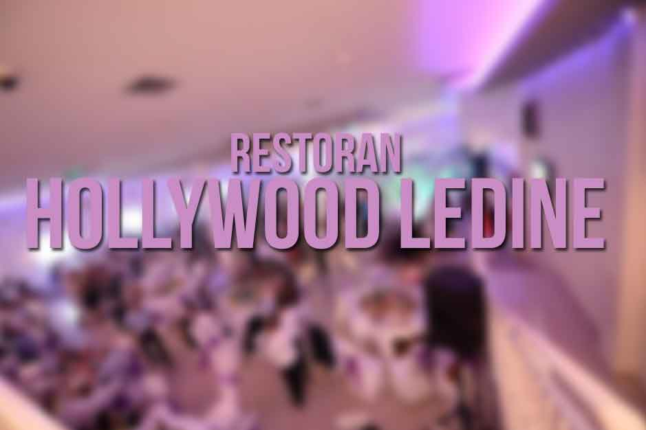 Restoran Hollywood Ledine Nova godina 2019