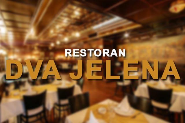 Restoran Dva Jelena Doček Nove godine 2019