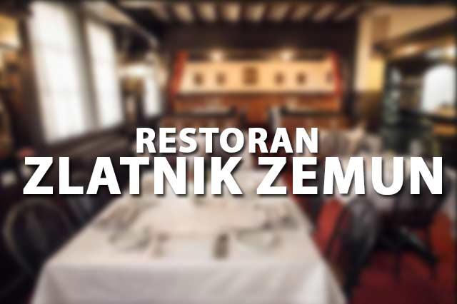 Restoran Zlatnik Zemun Doček Nove godine