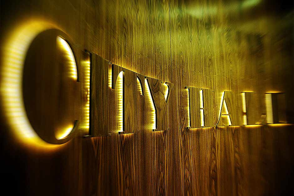 City Hall Doček Nove godine