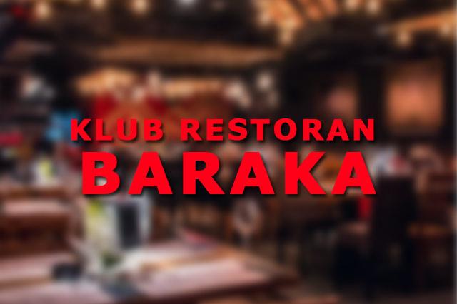 Klub Restoran Baraka Nova godina, Doček Nove godine
