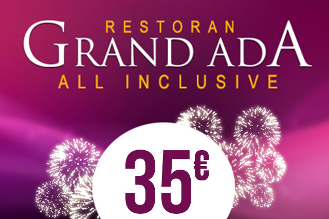 Restoran Grand Ada Nova godina 2019