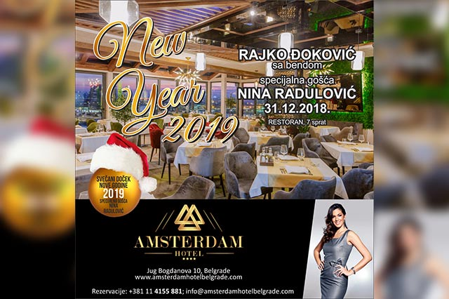 Hotel Amsterdam Nova godina 2019