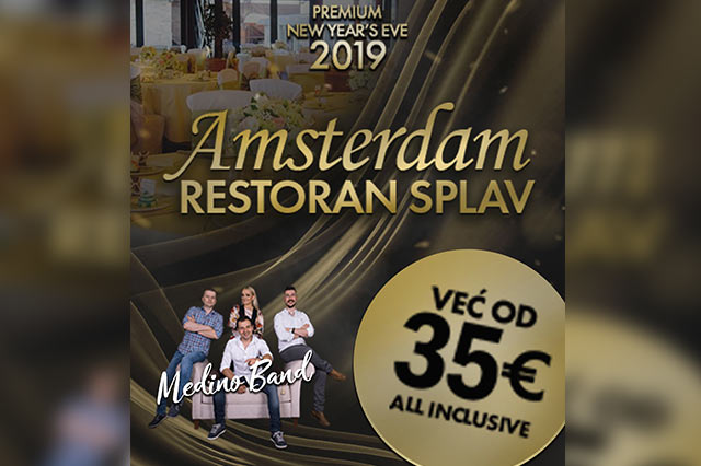 Splav Restoran Amsterdam Doček Nove godine 2019