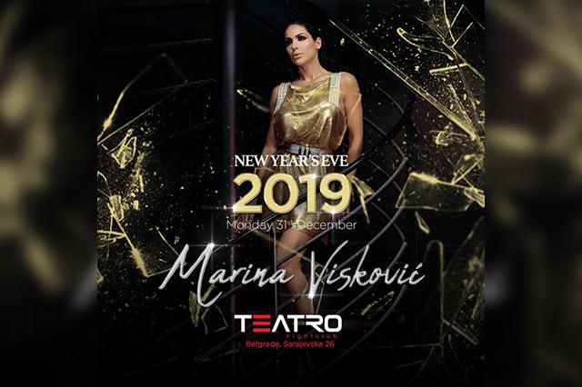 Klub Teatro Doček Nove godine 2019