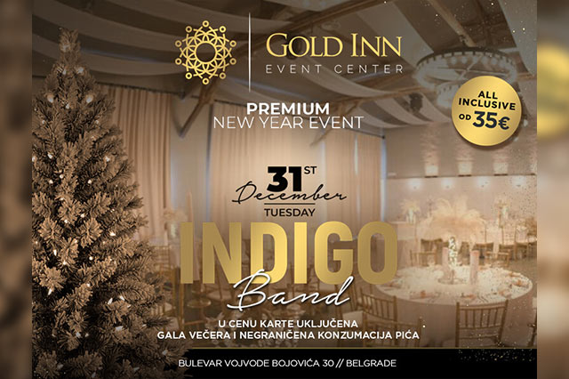 Gold Inn Event Centar Doček Nove godine