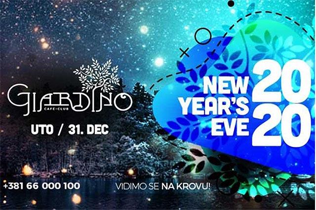 Giardino Club Doček Nove godine