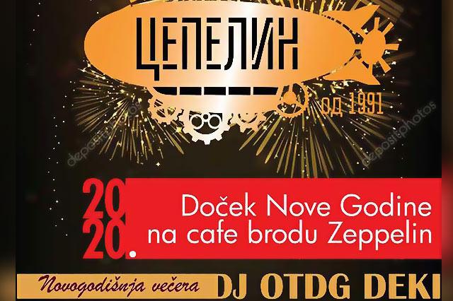 Cafe Brod Zeppelin Doček Nove godine