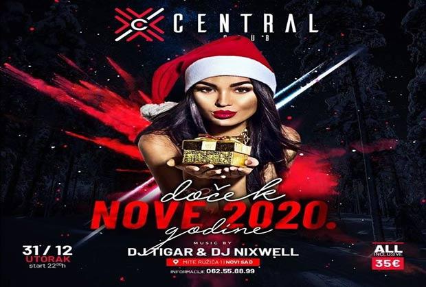 Central club Doček Nove godine