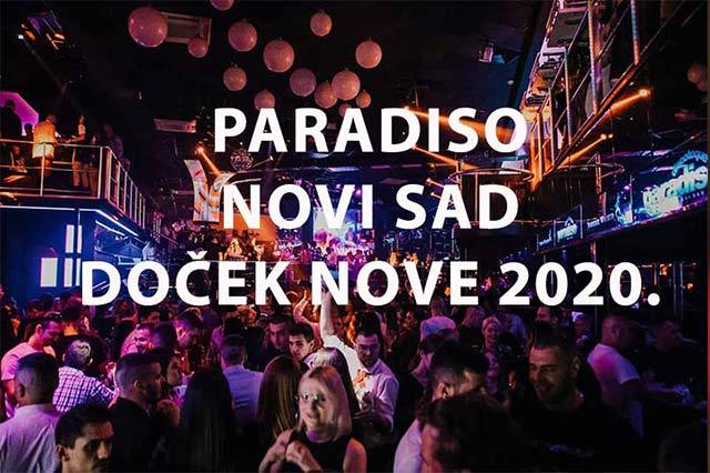 Klub Paradiso Nova godina
