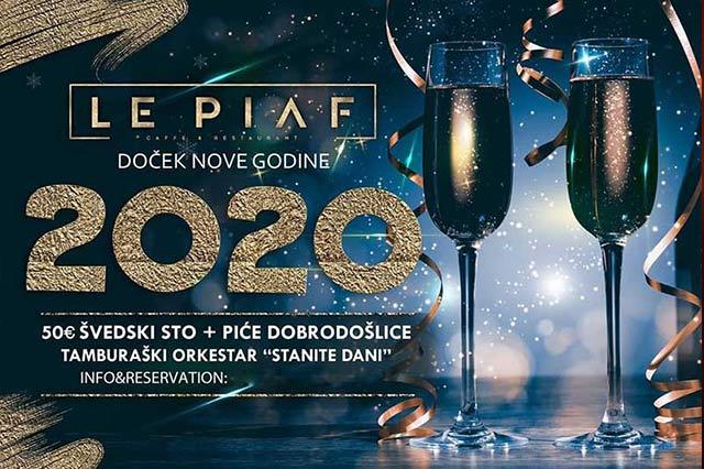 Restoran Le Piaf Doček Nove godine