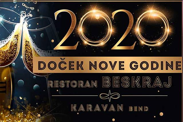 Restoran Beskraj Doček Nove godine