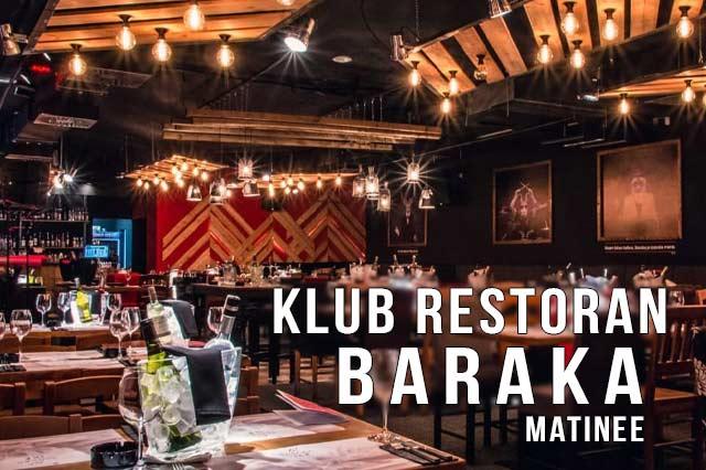 Klub Restoran Baraka Matinee Doček Nove godine