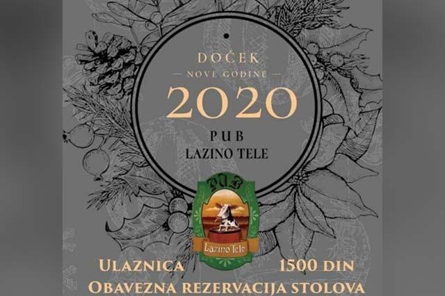 Pub Lazino Tele Nova godina