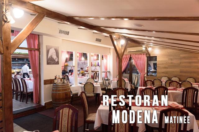 Restoran Modena Doček Nove godine Matinee
