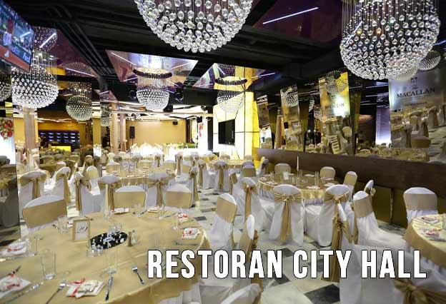 Restoran City Hall Doček Nove godine