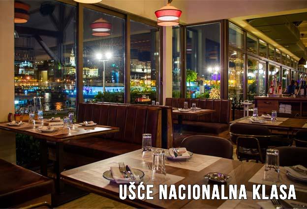 Restoran Ušće Nacionalna Klasa Doček Nove godine