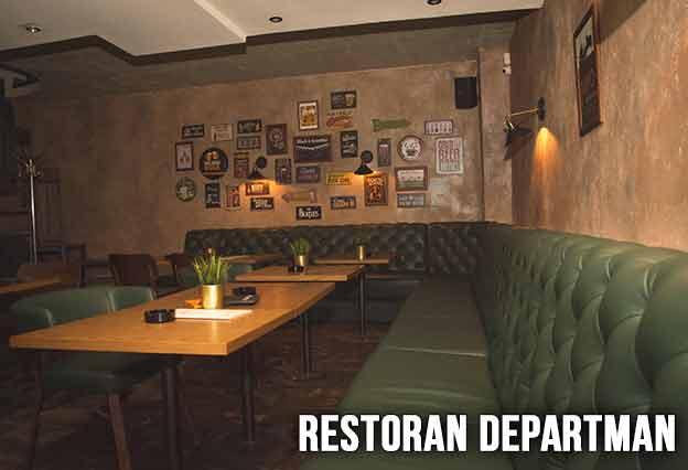 Restoran Departman Doček Nove godine