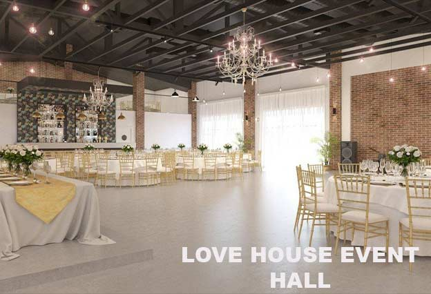 Love House Event Hall Doček Nove godine