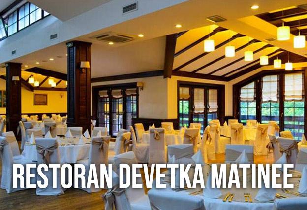 Restoran Devetka Matinee docek Nove godine