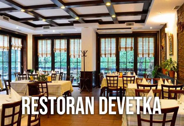 Restoran Devetka Docek Nove godine