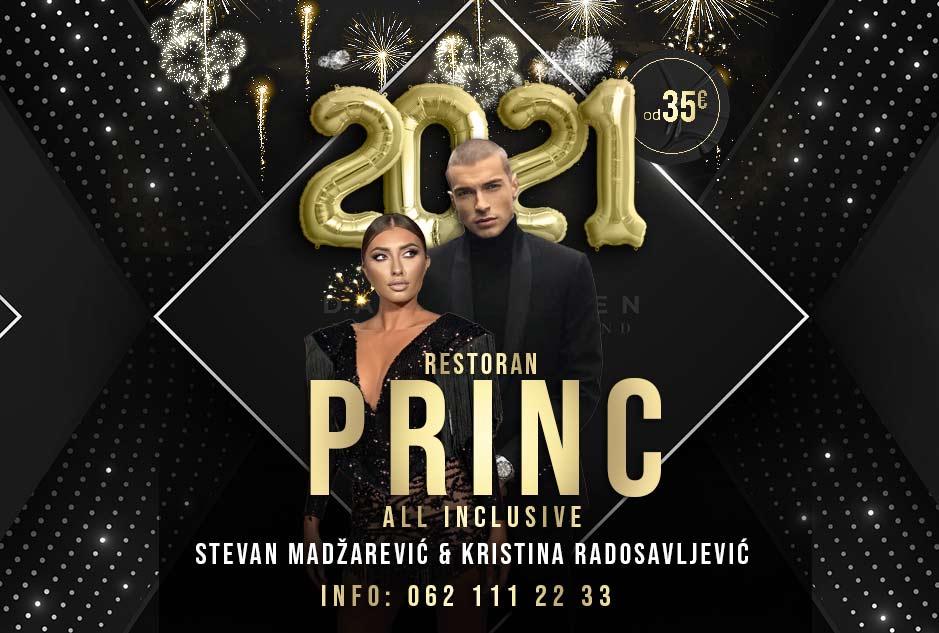 Restoran Princ Docek Nove godine