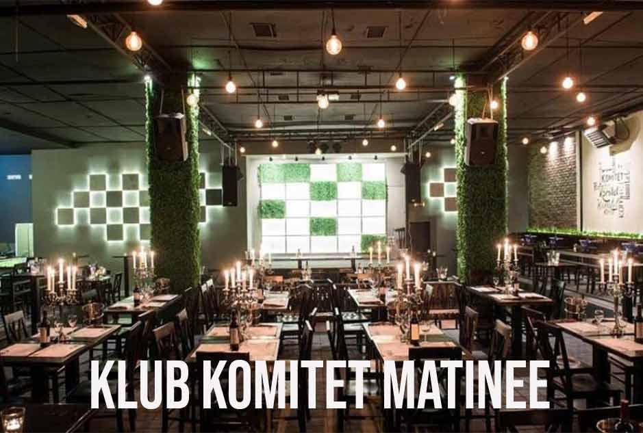 Klub Komitet Matinee matinee docek Nove godine