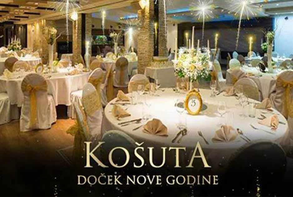 Restoran Košuta Doček Nove godine