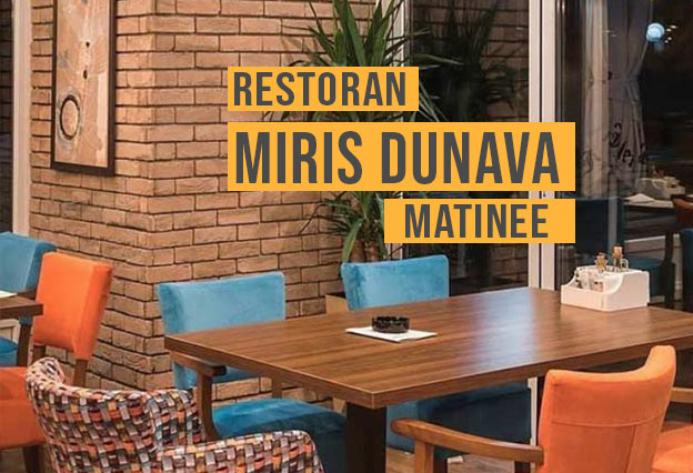Restoran Miris Dunava Matinee Docek Nove godine