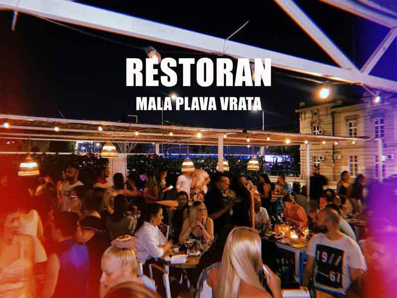 Restoran Mala plava vrata doček Nove godine