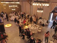 restoran beton sala docek nove godine
