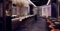 hotel hilton sky lounge bar docek nove godine