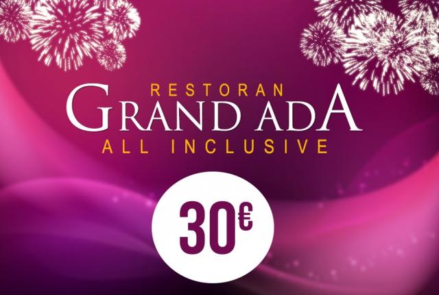 Restoran Grand Ada Nova godina 2018