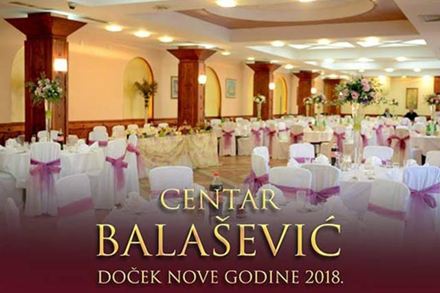 Restoran Balašević Doček Nove godine 2018