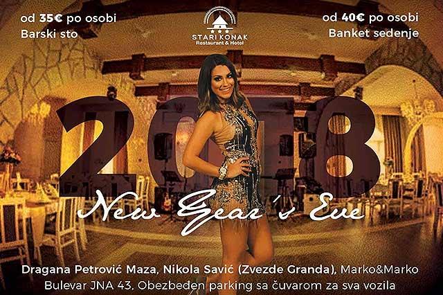 Restoran Stari Konak docek Nove godine