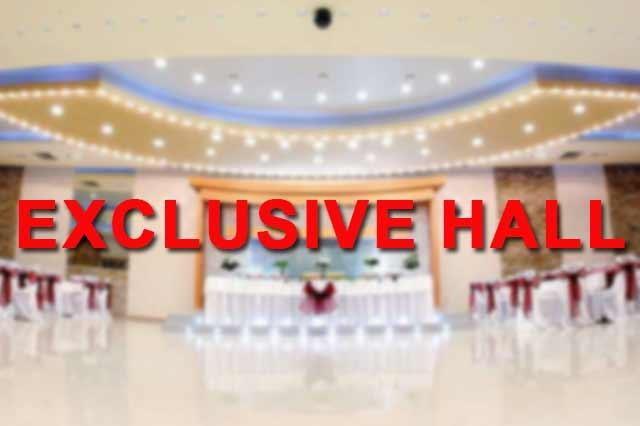 Exclusive Hall Doček Nove godine