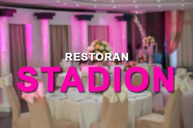 Restoran Stadion Nova 2018. godina