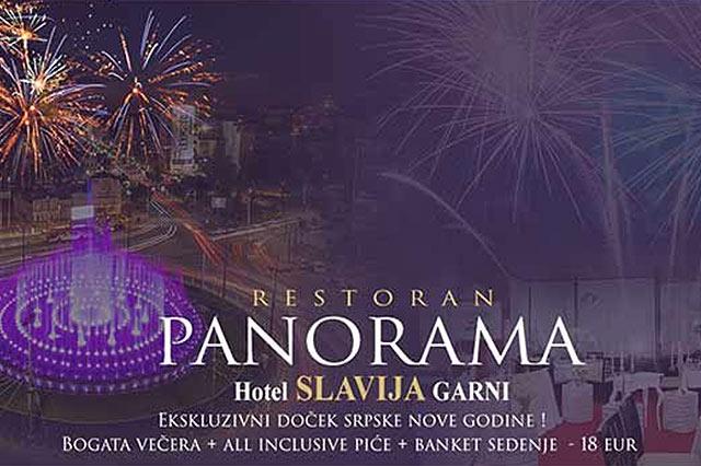 Restoran Panorama Doček Nove godine