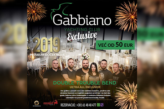 Restoran Gabbiano Exclusive Nova godina 2019