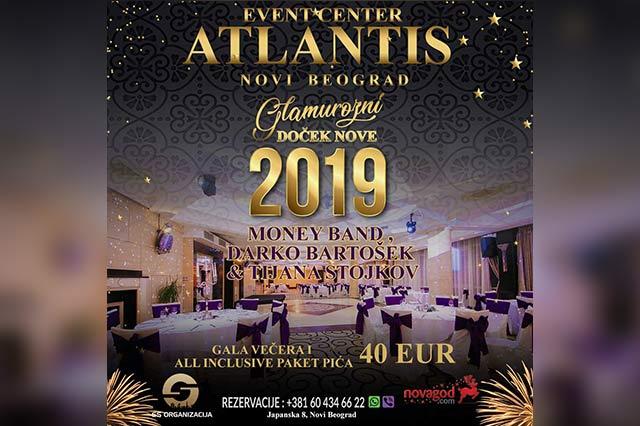 Atlantis Event Centar Doček Nove godine 2019