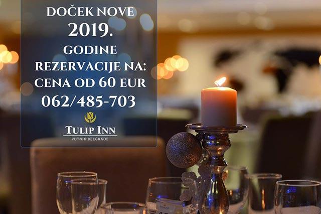 Hotel Tulip Inn Doček Nove godine  2019