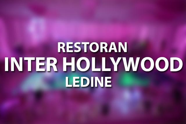 Restoran Inter Hollywood Ledine Doček Nove godine