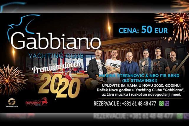 Restoran Gabbiano Nova godina