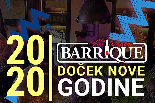 Barrique - Wine & Food Bar Doček Nove godine