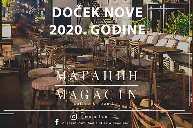 Cafe & Food Bar Magacin Nova godina