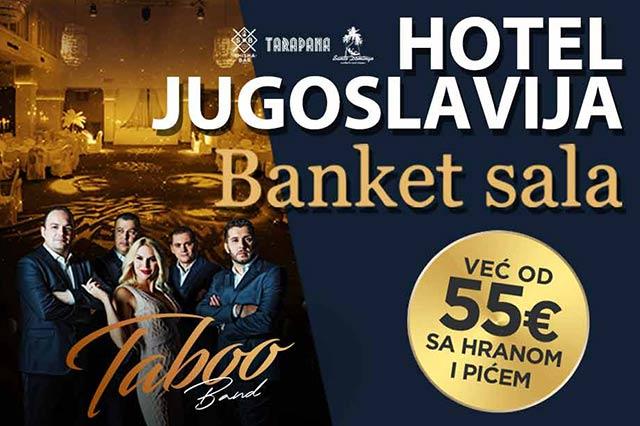 Hotel Jugoslavija Doček Nove godine